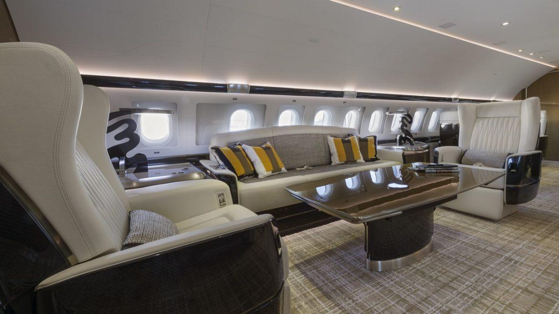 Как организован интерьер частных яхт и самолетов? интерьер Как организован интерьер частных яхт и самолетов? 037