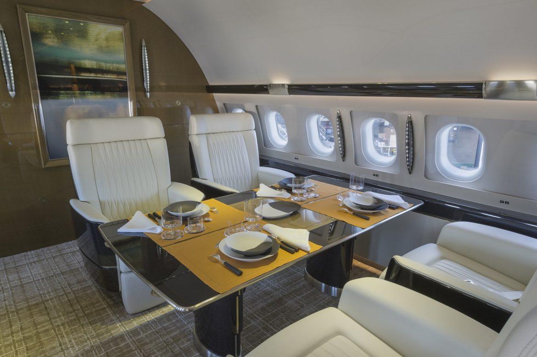 Как организован интерьер частных яхт и самолетов?