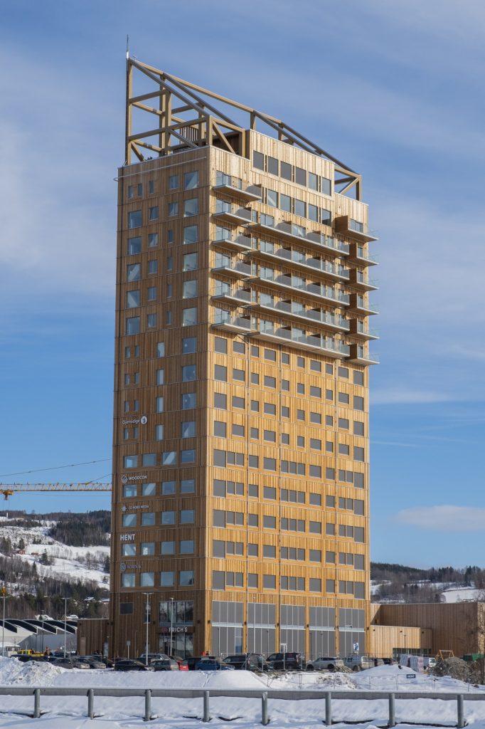 небоскрёб Самый высокий небоскрёб из дерева в Норвегии 4449620MjC3B8staCC8Arnet20screen