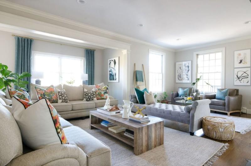 Весенний декор: гостиные, о которых вы мечтаете Весенний Весенний декор: гостиные, о которых вы мечтаете CL 2