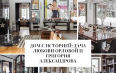 Дом Дом с историей: дача Любови Орловой и Григория Александрова                                                                                                                240x150