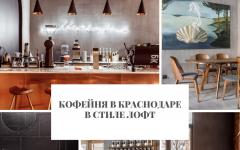 Кофейня Кофейня в Краснодаре в стиле лофт                                                               1 240x150