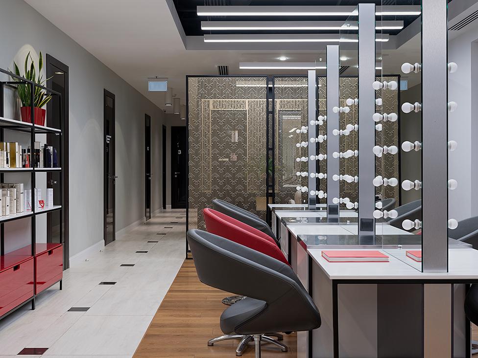 Интерьер салона красоты и косметологии Legend New York