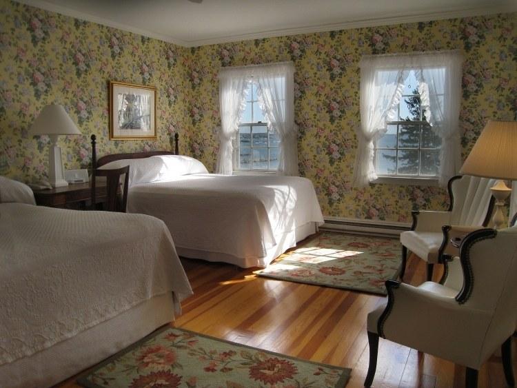 Декор курортных городов Новой Англии