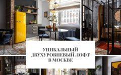 лофт Уникальный двухуровневый лофт в Москве                                                                          240x150