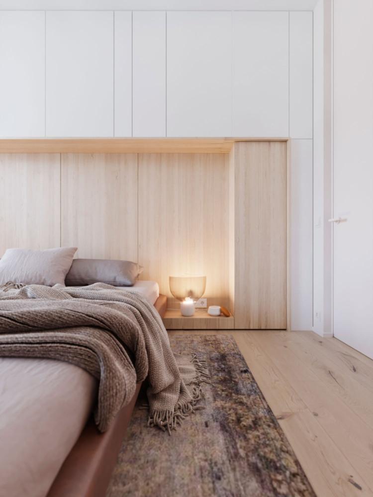 Архитекторы разработали планировочное решение для молодой пары Архитекторы Архитекторы разработали планировочное решение для молодой пары Bedroom cam 5 750x1000