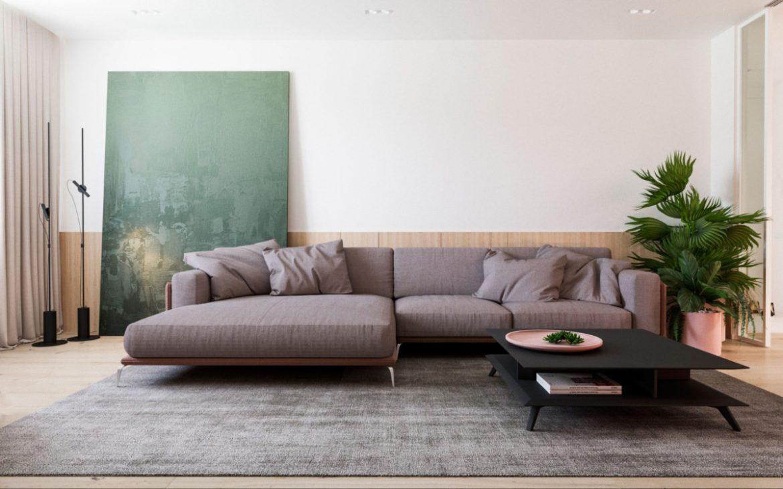 Архитекторы разработали планировочное решение для молодой пары Архитекторы Архитекторы разработали планировочное решение для молодой пары Livingroom 2 1200x750