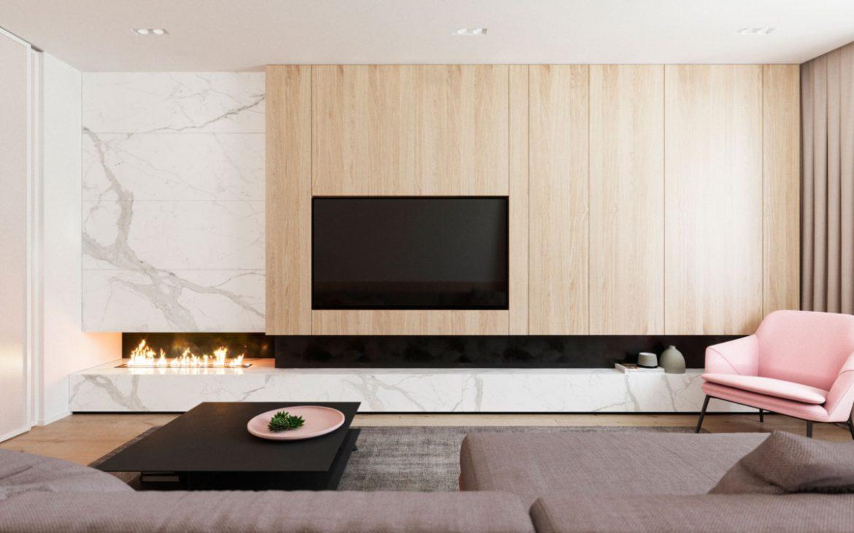Архитекторы разработали планировочное решение для молодой пары Архитекторы Архитекторы разработали планировочное решение для молодой пары Livingroom 3 1200x750