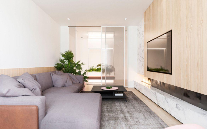 Архитекторы разработали планировочное решение для молодой пары Архитекторы Архитекторы разработали планировочное решение для молодой пары Livingroom 6 1200x750
