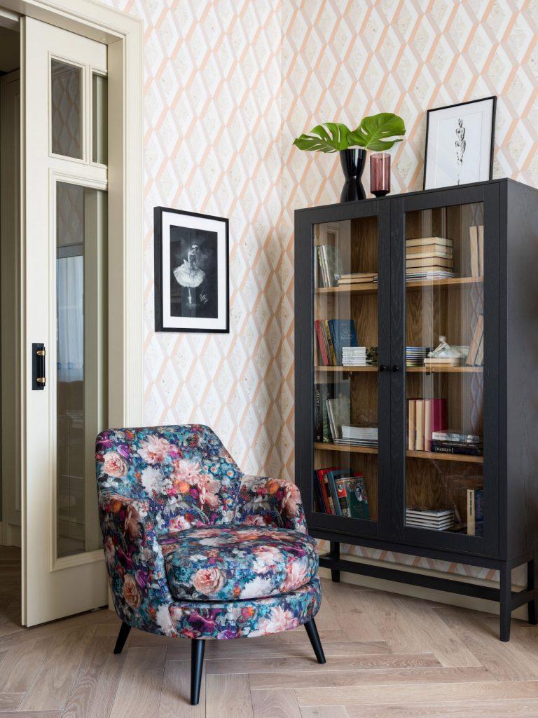 Интерьер квартиры в розовых тонах