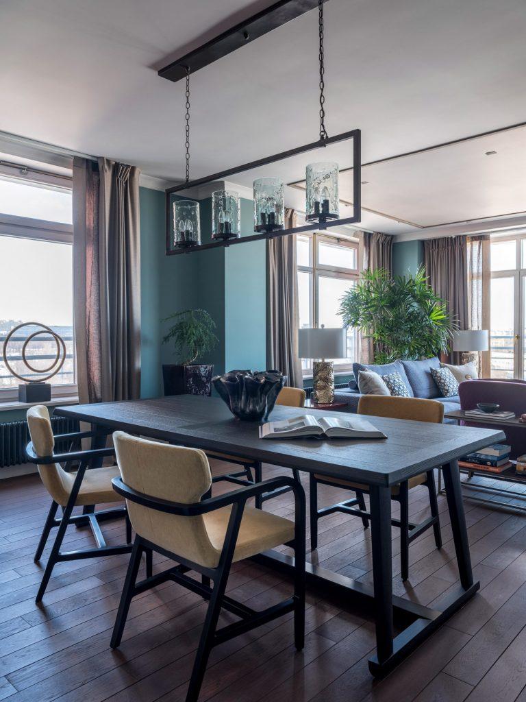 Интерьер квартиры с панорамными окнами Интерьер Интерьер квартиры с панорамными окнами w1316 17