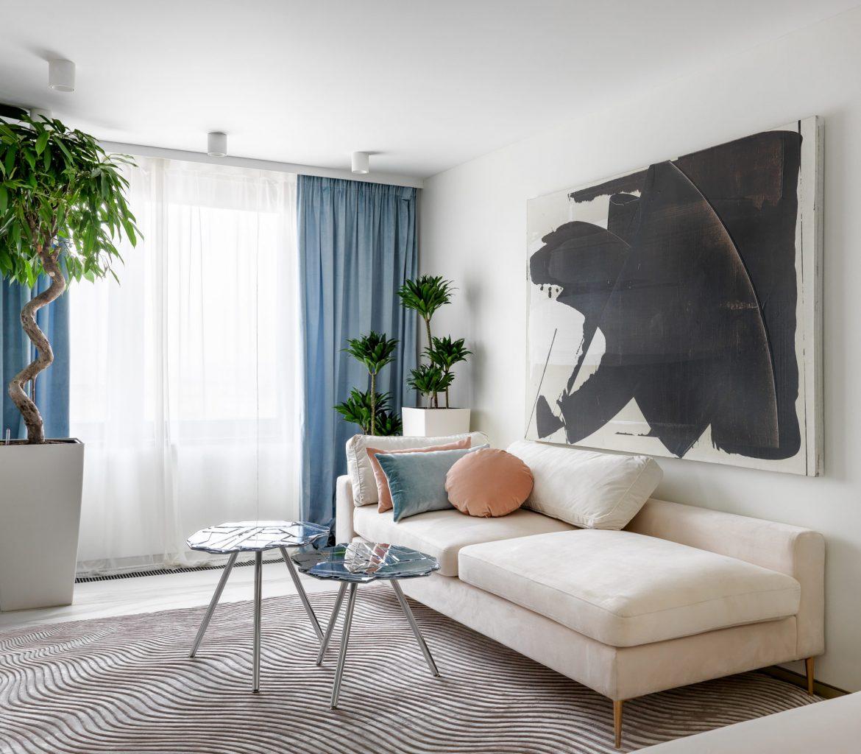Светлая квартира от студии Atelier Interior