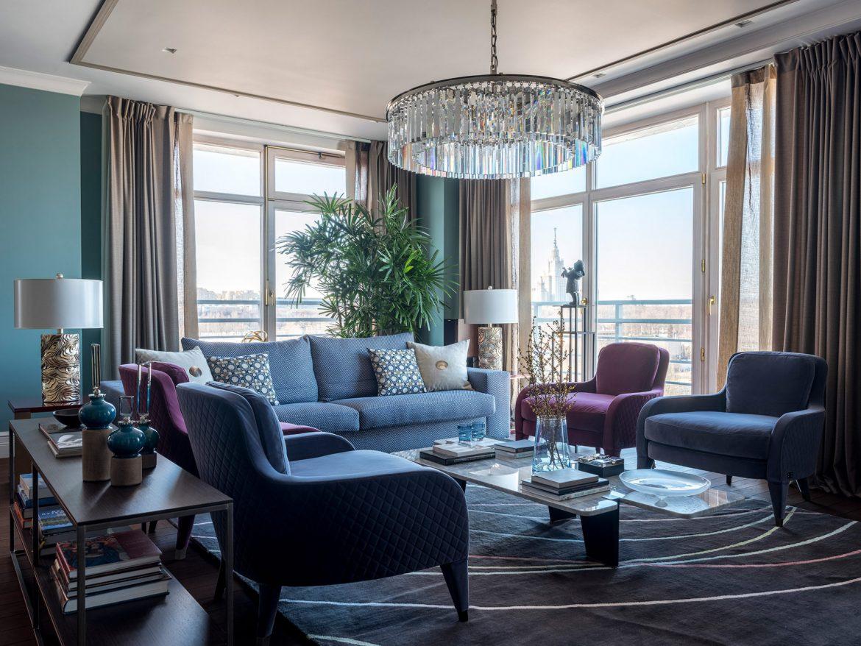 Интерьер квартиры с панорамными окнами Интерьер Интерьер квартиры с панорамными окнами w1976 16