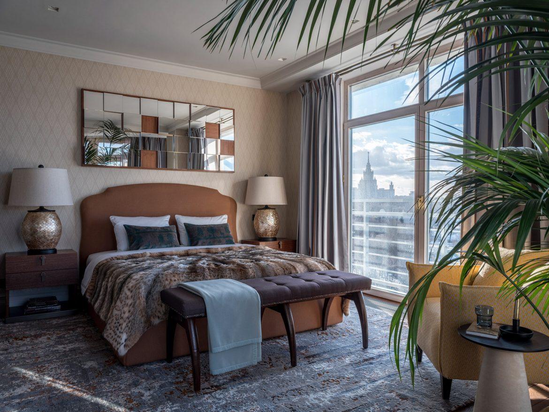 Интерьер квартиры с панорамными окнами Интерьер Интерьер квартиры с панорамными окнами w1976 18