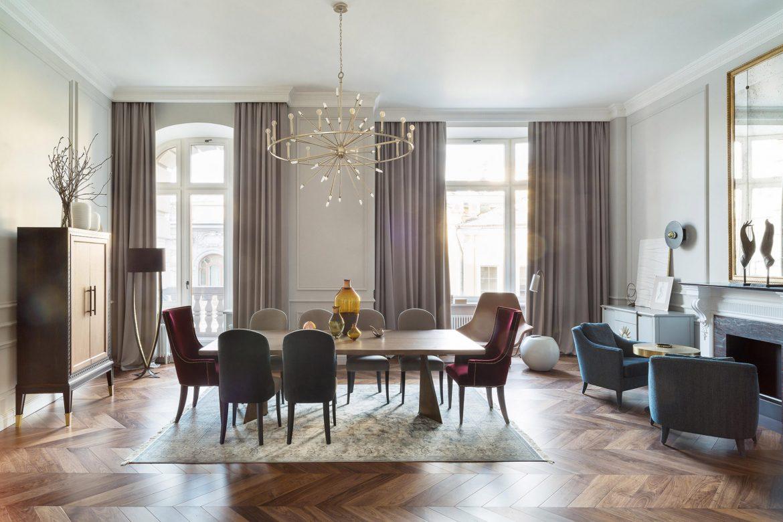 Двухэтажная квартира в Москве