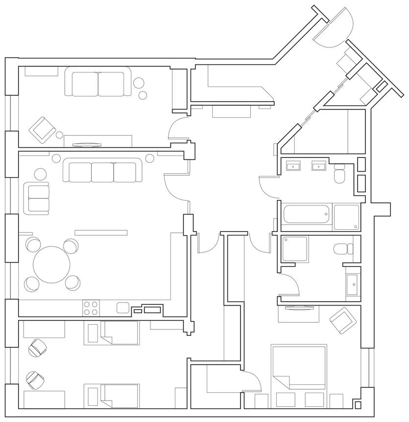 Актуальный дизайн интерьера интерьера Актуальный дизайн интерьера 835 3500 s228